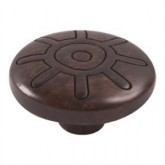 Wooden Engraved Knob 422WE